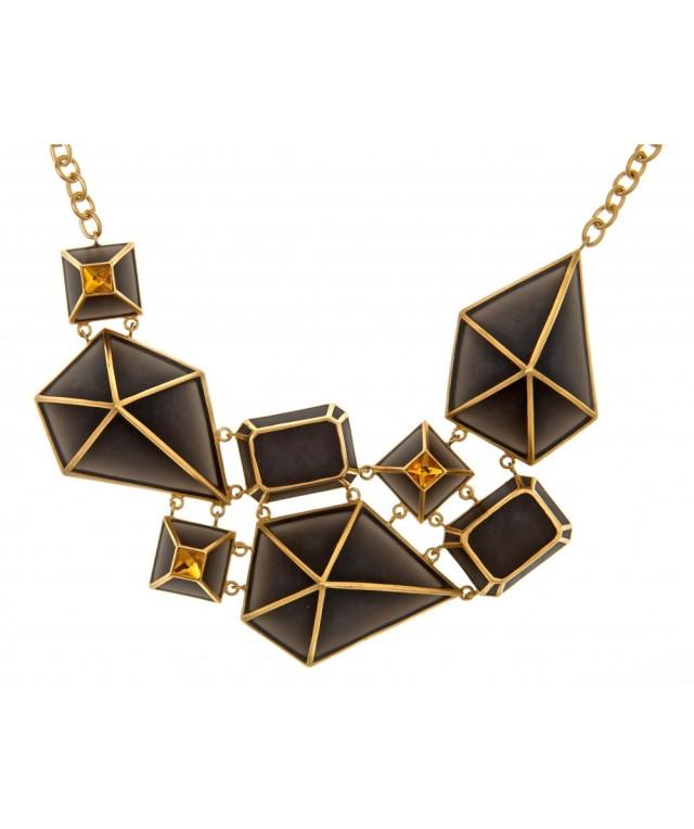 isharya_colier_black_frost_resin_golden_mirror_glass_golden_pearl_matte_24k_gold_plated_brass_1570ron